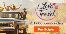 Concours I Love Travel 2017