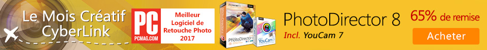 Nouveau PhotoDirector 8