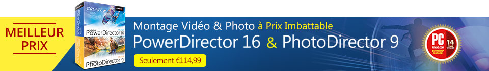 PowerDirector 16 & PhotoDirector 9