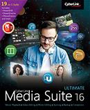 Media Suite 16 - La collection la plus complète de logiciels multimédias primés pour créer, lire, graver et convertir vos médias.