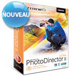 PhotoDirector 8 - Retouche et Conception Photo Complète